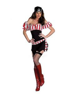 Ships Ahoy Pirate Costume