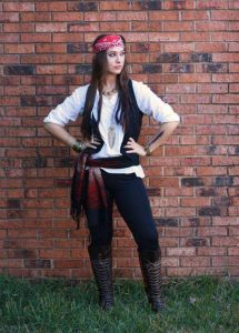 Simple Pirate Costume For Women