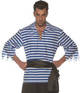 Striped Shirt Pirate Costume