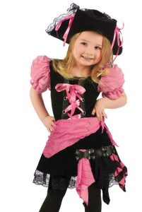 Toddler Cute Pink Pirate Costume