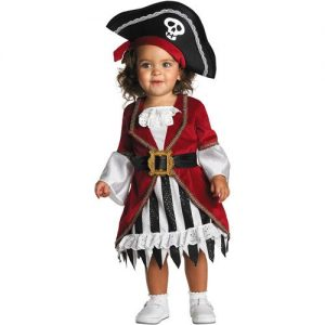 Toddler Girl Pirate Halloween Costume