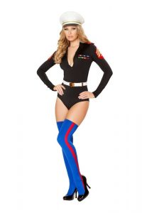 Woman Marine Halloween Costume