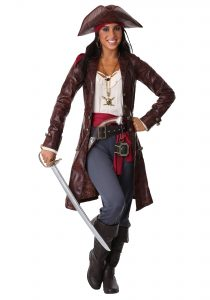 Woman Pirate Captain Costume