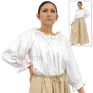 Woman Pirate Shirt Costume