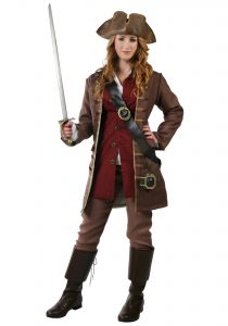 Women'S Authentic Caribbean Pirate Costume