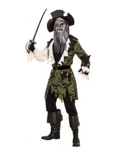 Zombie Pirate Costume Spirit Halloween