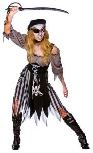 Zombie Pirate Halloween Costume