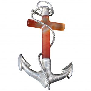 large anchor brooch