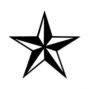Nautical Star Decal Sticker